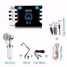 Combo BM8000 - XOX K10