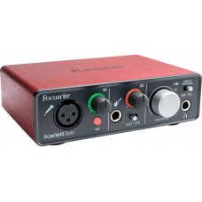 Focusrite Scarlett Solo | Interface | Soundcard | Like New